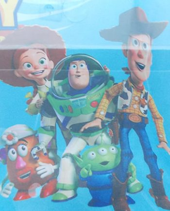 Perdea voal bleo Toy Story